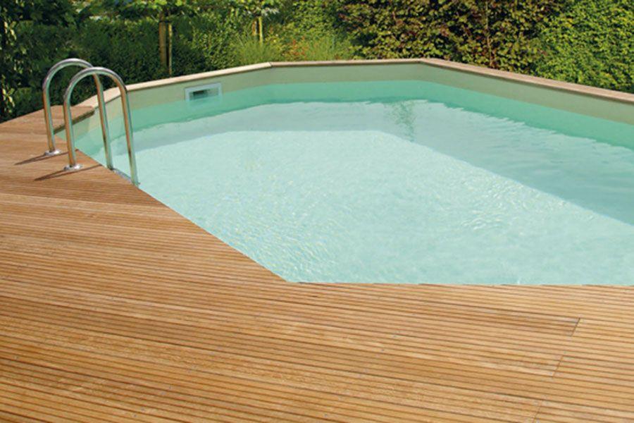 Habillage et aménagement de piscines à Tours chez Brin de Jardins