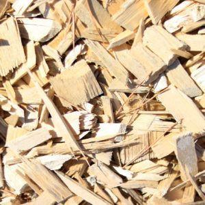 Brin de Jardins paillage naturel plaquettes de peuplier à Esvres en Indre et Loire