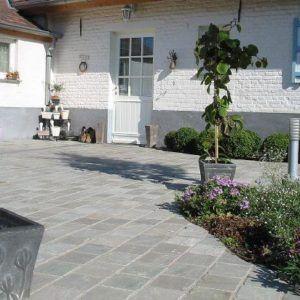 Brin de Jardins pierres naturelles Kandla Grey à Esvres en Indre et Loire