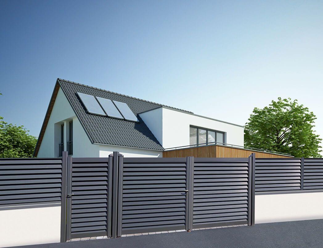 brise vue aluminium brin de jardins. Black Bedroom Furniture Sets. Home Design Ideas