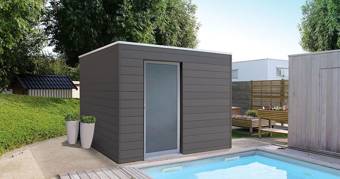 abri de jardin box composite brin de jardins. Black Bedroom Furniture Sets. Home Design Ideas